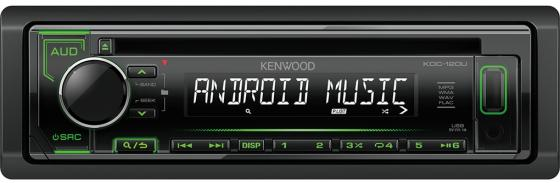 Автомагнитола Kenwood KDC-120UG USB MP3 CD FM RDS 1DIN 4х50Вт черный plaid mini a line dress