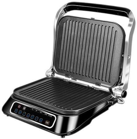 Электрогриль Redmond SteakMaster RGM-M805 чёрный серебристый redmond ri s220