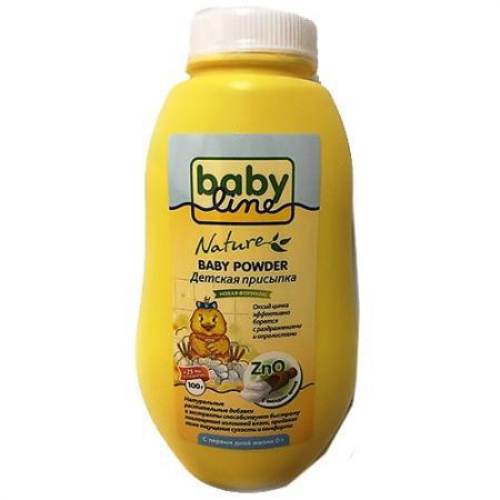 BABYLINE NATURE Присыпка детская с цинком 125 г babyline nature присыпка детская с оксидом цинка 125 г