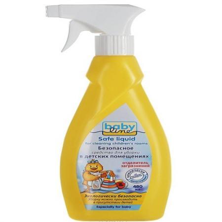 BABYLINE Безопасное средство для уборки детских помещений,480 мл средство для похудения безопасное