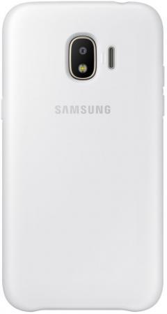 Чехол Samsung для  Galaxy J2 2018 Dual Layer Cove белый EF-PJ250CWEGRU