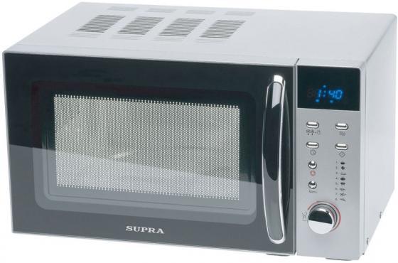 Микроволновая печь Supra 18TS80 700 Вт серебристый микроволновая печь lg mh 6022ds 700 вт серебристый