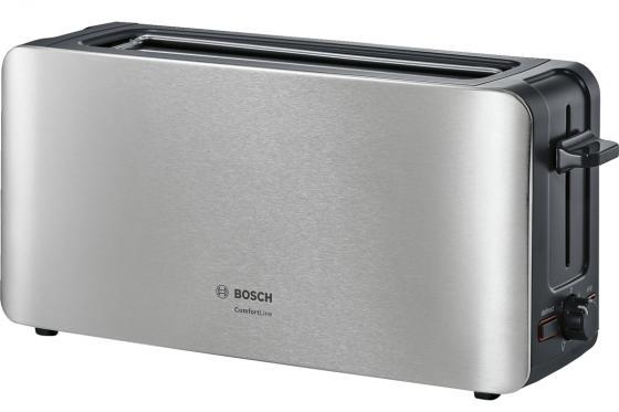 лучшая цена Тостер Bosch TAT6A803 серебристый