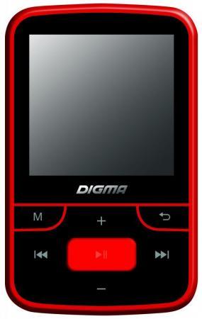 Плеер Digma T3 8Gb черный/красный цена
