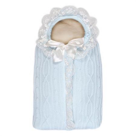 Конверт с 1 молнией Сонный Гномик Зимняя Радость (голубой) конверт детский сонный гномик 1 молния кремовый