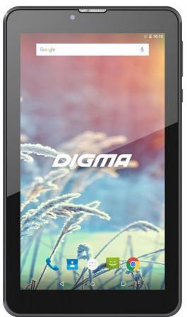 Планшет Digma Plane 7547S 3G SC7731 (1.2) 4C/RAM1Gb/ROM16Gb 7 IPS 1024x600/3G/Android 7.0/черный/2Mpix/0.3Mpix/BT/GPS/WiFi/Touch/microSD 64Gb/minUSB/2800mAh 7 touch screen lcd google android 2 1 tablet pc w wifi camera hdmi tf telechips 8900 499 71mhz