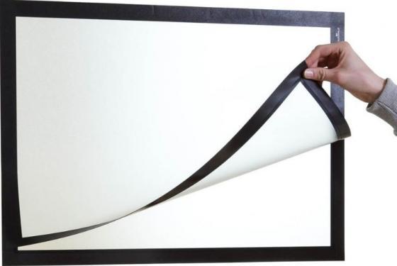 Магнитная рамка Durable Duraframe Poster A2 настенная черный 499501