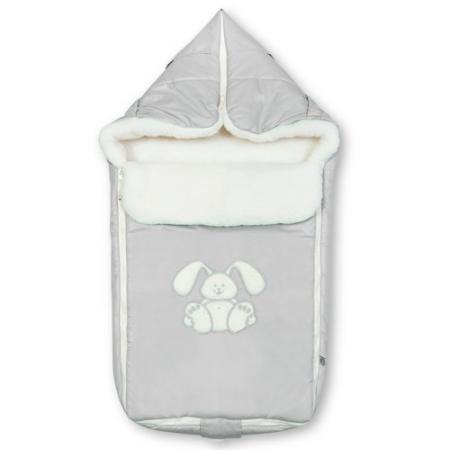 Конверт Сонный Гномик Зайчик (серый) конверт детский сонный гномик 1 молния кремовый