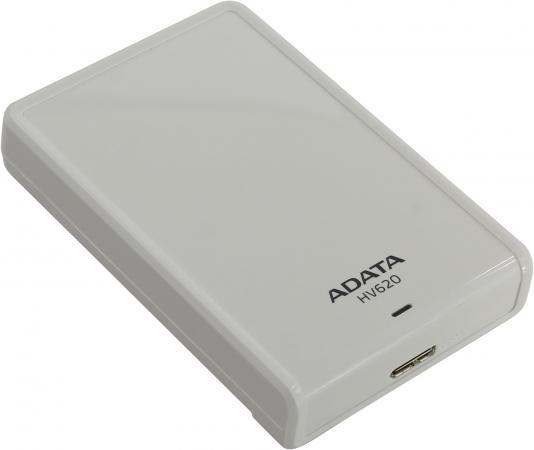 Внешний жесткий диск 2.5 USB3.0 3Tb Adata HV620 AHV620-3TU3-CWH белый