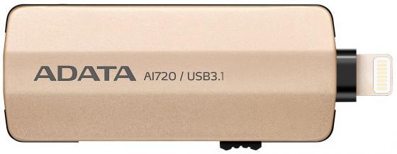 Фото - Флешка USB 32Gb A-Data i-Memory AI720 AAI720-32G-CGD золотистый a i l a w i s h e s red lace