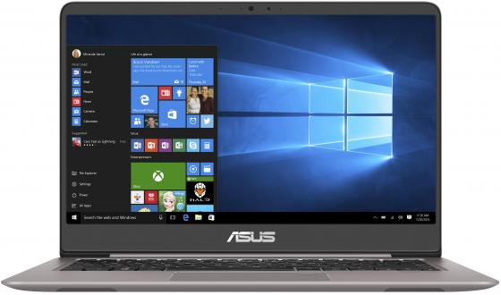 Ноутбук ASUS Zenbook UX410UA-GV065R 14 1920x1080 Intel Core i3-7100U 256 Gb 4Gb Intel HD Graphics 620 серый Windows 10 Professional 90NB0DL1-M09510 renfert mt 3 ua купить