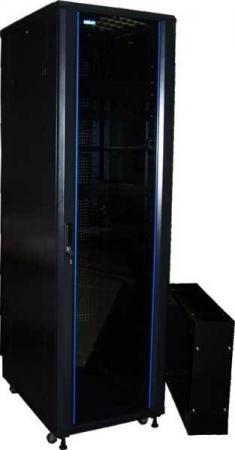 Шкаф напольный 42U Lanmaster TWT-CBA-42U-6x8-00 600x800mm черный