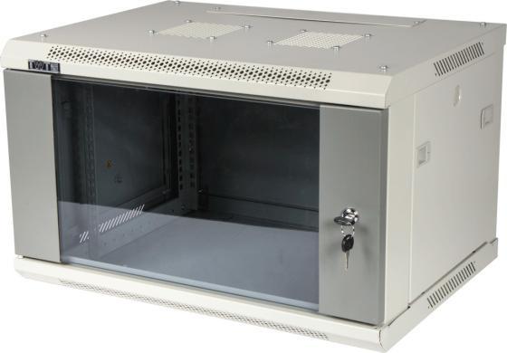 лучшая цена Шкаф настенный серии Pro, 9U 600x450, стеклянная дверь TWT-CBWPG-9U-6x4-GY