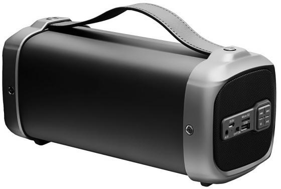 Портативная акустика Ginzzu GM-888B черный ручной пылесос handstick ginzzu vs407 90вт черный