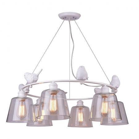 Купить со скидкой Подвесная люстра Arte Lamp Passero A4289LM-6WH