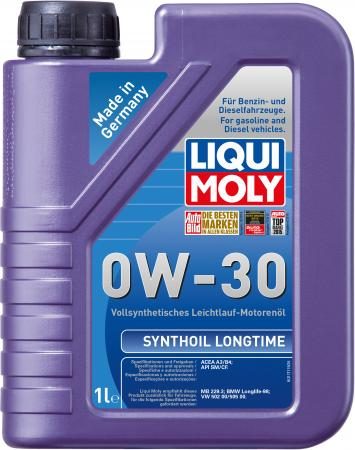 Cинтетическое моторное масло LiquiMoly Synthoil Longtime 0W30 1 л 8976