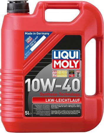 НС-синтетическое моторное масло LiquiMoly LKW-Leichtlauf-Motoroil Basic 10W40 5 л 8026