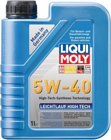 Купить со скидкой НС-синтетическое моторное масло LiquiMoly Leichtlauf High Tech 5W40 1 л 8028