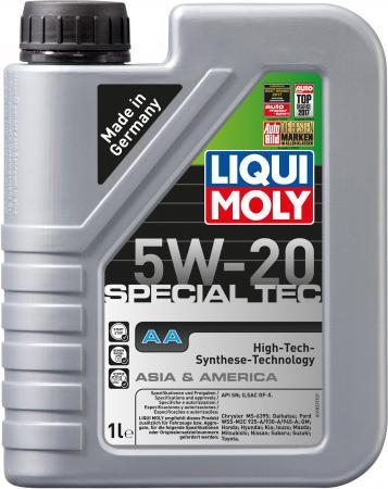 НС-синтетическое моторное масло LiquiMoly Special Tec AA 5W20 1 л 7620 моторное масло liqui moly special tec ll 5w 30 1л