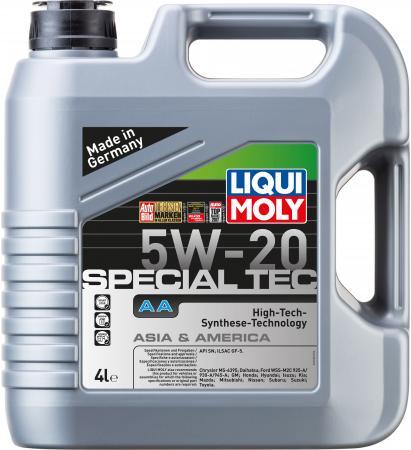НС-синтетическое моторное масло LiquiMoly Special Tec AA 5W20 4 л 7621