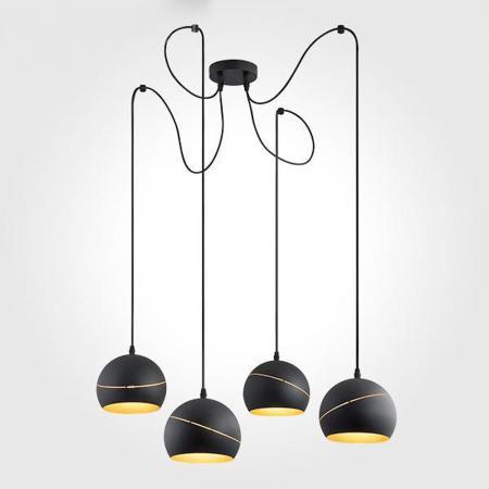 Подвесная люстра TK Lighting 2221 Yoda Black Orbit цены онлайн