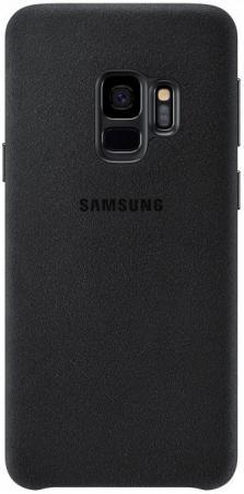 Чехол (клип-кейс) Samsung для Samsung Galaxy S9 Alcantara черный (EF-XG960ABEGRU) клип кейс samsung alcantara cover ef xg955a для galaxy s8 темно серый
