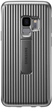 Чехол (клип-кейс) Samsung для Samsung Galaxy S9 Protective Standing серебристый (EF-RG960CSEGRU) enkay high definition protective film for samsung galaxy s9
