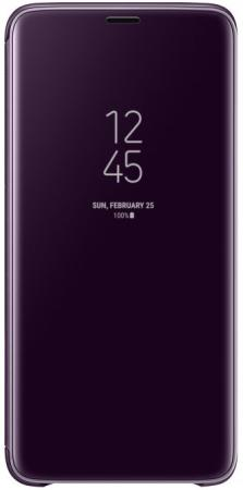 Чехол (флип-кейс) Samsung для Samsung Galaxy S9+ Clear View Standing фиолетовый EF-ZG965CVEGRU samsung ef zg950c clear view standing чехол для galaxy s8 black