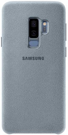 Чехол (клип-кейс) Samsung для Samsung Galaxy S9+ Alcantara мятный (EF-XG965AMEGRU) комплект в кроватку золотой гусь мишка царь 8 предметов голубой 1082