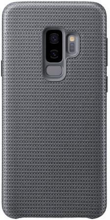 Чехол (клип-кейс) Samsung для Samsung Galaxy S9+ Hyperknit Cover серый (EF-GG965FJEGRU) чехол клип кейс samsung clear cover для samsung galaxy s8 черный [ef qg955cbegru]