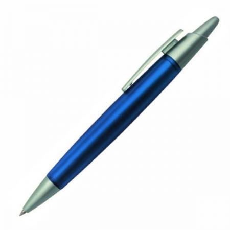 Авторучка шариковая, синий корпус 3