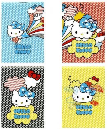 Блокнот Action! HELLO KITTY HKO-APC-7/40-4 A7 40 листов тетрадь общая action hello kitty 48 листов клетка скрепка hko an 4801 5 2