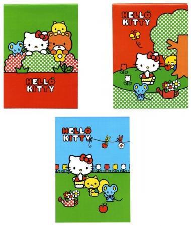 Блокнот ACTION! HELLO KITTY, на скрепке, кл., мелован. обл., ф. А6, 40 л., 4 дизайна все цены