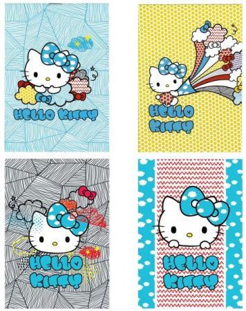 Блокнот ACTION! HELLO KITTY, на скрепке, кл., мелован. обл., ф. А6, 40 л.,4 дизайна блокнот action hello kitty на скрепке кл мелован обл ф а6 40 л 4 дизайна