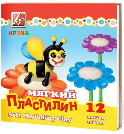 Пластилин ЛУЧ Крох 12 цветов колобок 2018 12 02t17 00