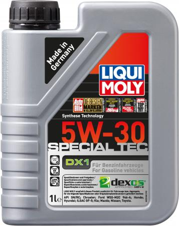 НС-синтетическое моторное масло LiquiMoly Special Tec DX1 5W30 1 л 20967