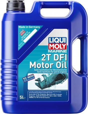 Полусинтетическое моторное масло LiquiMoly Marine 2T DFI Motor Oil 5 л 25063