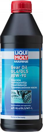 Минеральное трансмиссионное масло LiquiMoly Marine Gear Oil 80W90 1 л 25069