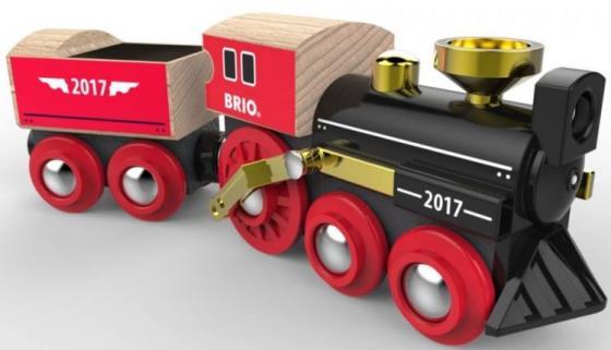 BRIO Поезд Супер-Ретро 2017, лимитированная серия, без механизмов brio поезд 33595