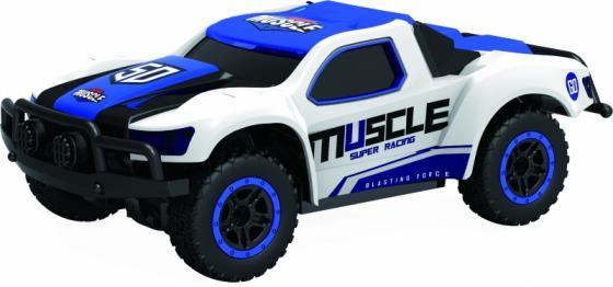 1toy Драйв, раллийная машина на р/у, 2,4GHz, 4WD, масштаб 1:43, скорость до 14км/ч, курковый пульт, TPR шины, с АКБ, голубая 1toy раллийная машина на р у