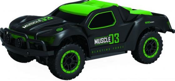 Машинка на радиоуправлении 1toy Раллийная машина зелёный пластик, металл Т10940