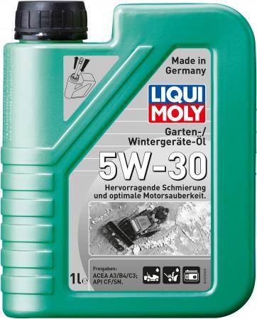 НС-синтетическое моторное масло LiquiMoly Garten-Wintergerate-Oil 5W-30 (для зимней садовой техники) 1279