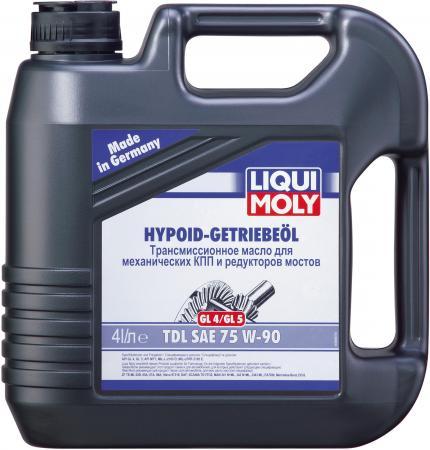 Полусинтетическое трансмиссионное масло LiquiMoly Hypoid-Getriebeoil TDL 75W90 4 л 3939