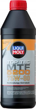НС-синтетическое трансмиссионное масло LiquiMoly Top Tec MTF 5200 75W80 1 л 20845 2pcs led car door light courtesy logo laser projector punching ghost shadow lamp lights for bmw vw honda toyota ford chevrolet