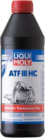 НС-синтетическое трансмиссионное масло LiquiMoly ATF III HC 1 л 3946 жидкость трансмиссионная nissan atf matic d синтетическое 1 л