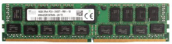 Оперативная память 16Gb PC4-19200 2400MHz DDR4 DIMM Hynix HMA42GR7AFR4N-UHT2 оперативная память dimm ddr2 1gb pc2 6400 800mhz hynix
