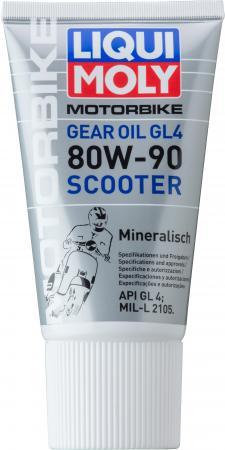 Минеральное трансмиссионное масло LiquiMoly Gear Oil Scooter 80W90 0.15 л 1680