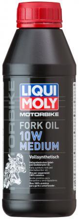 7599 LiquiMoly Синт. масло д/вилок и амортиз. Motorbike Fork Oil Medium 10W (0,5л) 2719 liquimoly синт масло д вилок и амортиз motorbike fork oil medium light 7 5w 1л