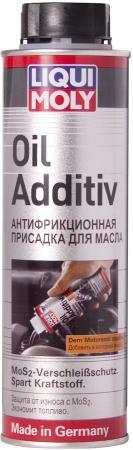 в моторное масло LiquiMoly Oil Additiv с дисульфидом молибдена (антифрикционная) 1998