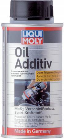 Присадка в моторное масло LiquiMoly Oil Additiv с дисульфидом молибдена (антифрикционная) 3901 антифрикционная присадка в трансмиссионное масло 0 02кг liqui moly getriebeoil additiv 3967